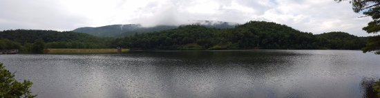 Clifton Forge, Virginie : Cloudy day, but great for a hike