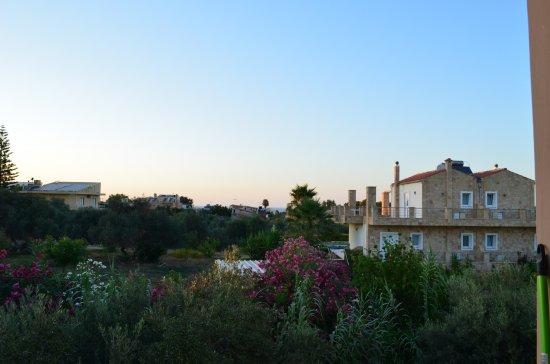 Nea Kydonia, Yunani: View from the room