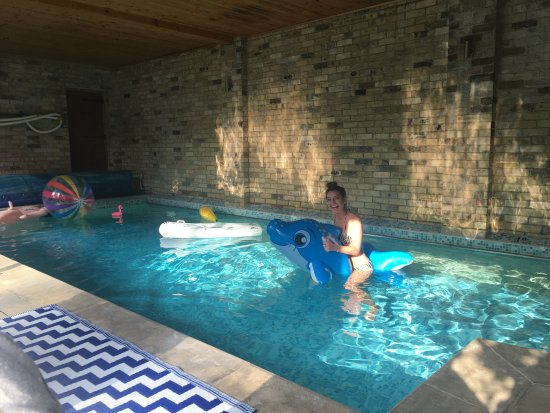 Fulbourn, UK: Indoor swimming pool