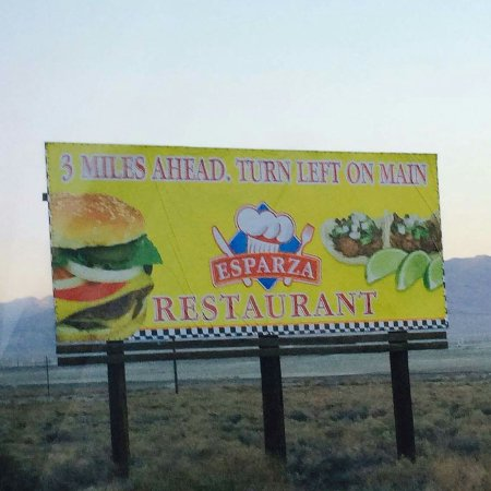 Trona, Kaliforniya: Esparza Family Restaurant