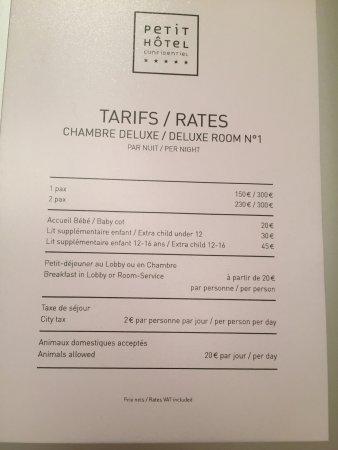 Petit Hotel Confidentiel: CHAMBRE DELUXE