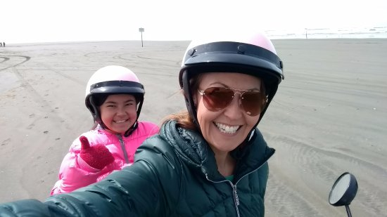 Ocean Shores, WA: Super fun ride and great view along the beach