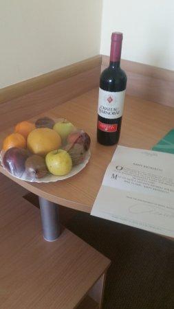 Hotel Aktinia: Birthday treats from hotel