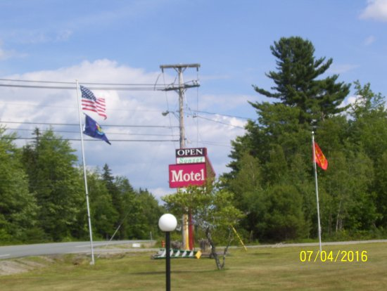 Ellsworth, ME:  View of U S Rte 1 by our cottage