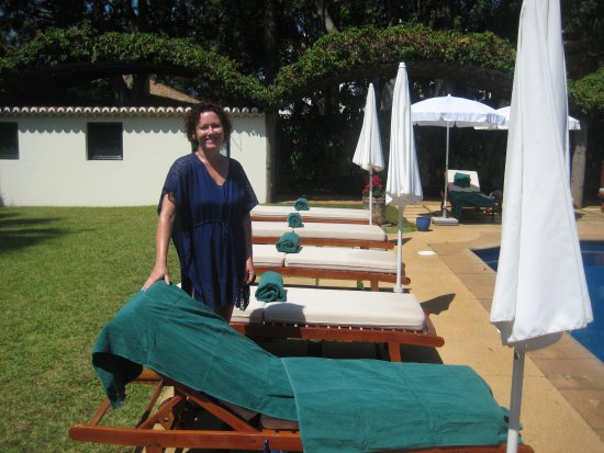 Quinta da Casa Branca: Plenty of sunbeds all day