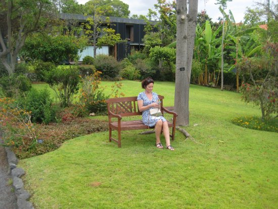 Quinta da Casa Branca: Making use of free wi fi in the grounds