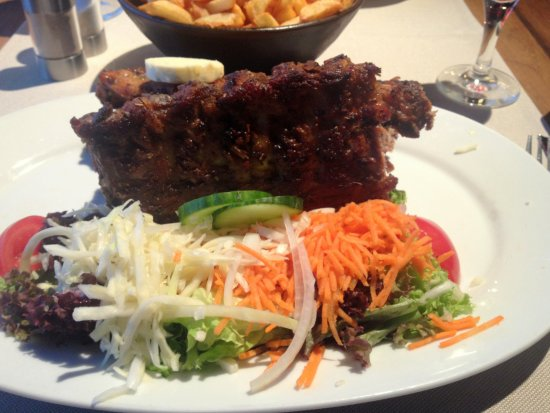Diksmuide, Belgique : Spare ribs