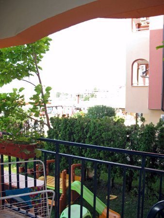 Hotel Evridika: Вид с балкона номера 108