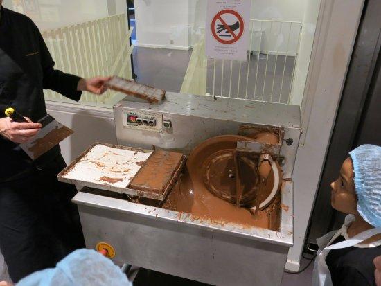 Koekelberg, Bélgica: Klein atelier in Belgian Chocolate Village