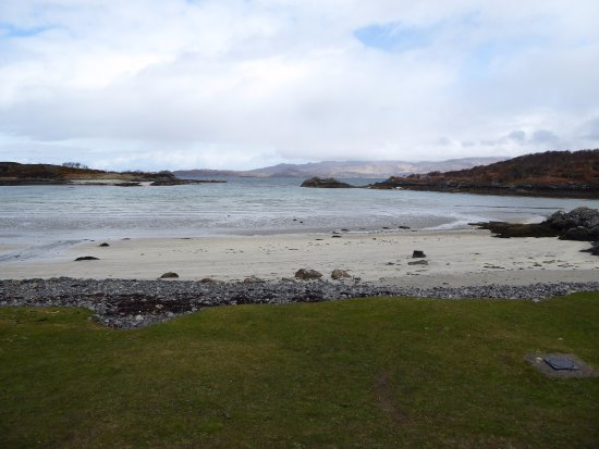 Glenuig, UK: Lovely little beach