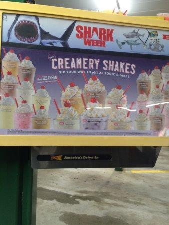 St. Marys, Gürcistan: É melhor milk shake
