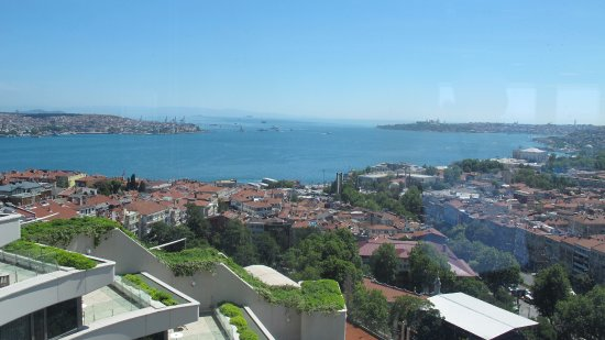 Conrad Istanbul Bosphorus: View from King Executive room