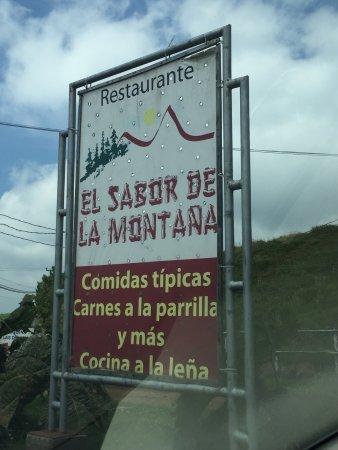 Restaurante El Sabor de la Montana: photo1.jpg