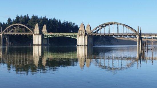 Florence, OR: Siuslaw River Bridge