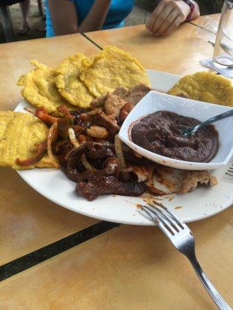 Golfito, Costa Rica: Tabla mixta