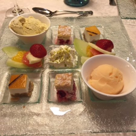 Gutach im Breisgau, Germany: 9 different desserts!