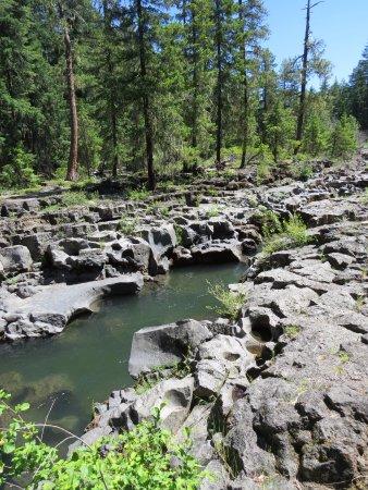 Prospect, Oregón: Rocky terrain