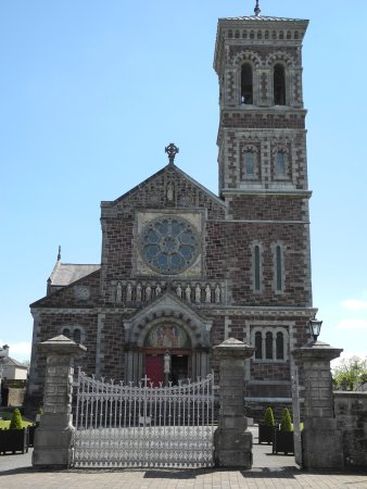 St Carthage's Catholic Church: The front of the church
