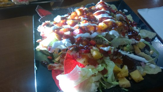 Olean, Nowy Jork: Nachos - you'll be surprised by the interesting mix of flavors