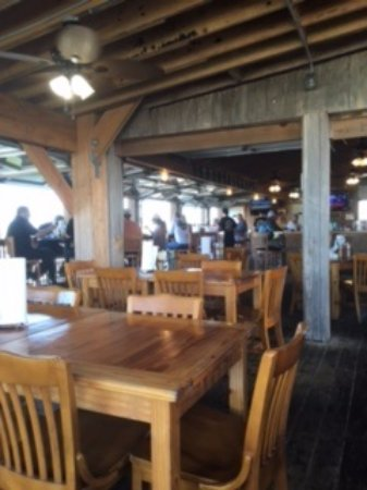 Mickey's Bar and Grill: inside the resturant