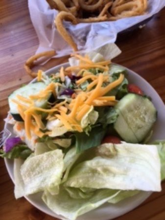 Aransas Pass, TX: Side salad