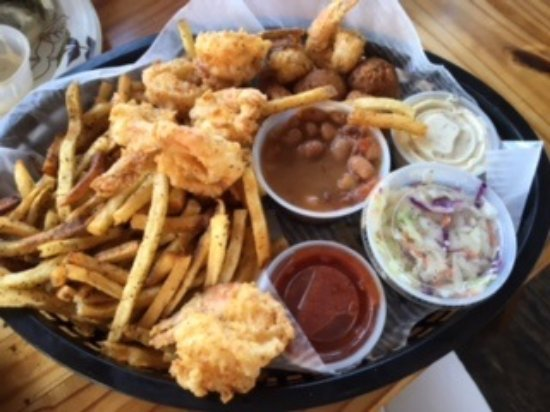 Aransas Pass, TX: shrimp basket