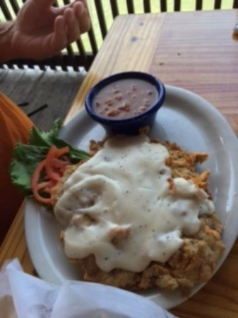 Aransas Pass, TX: Chicken Fried Steak