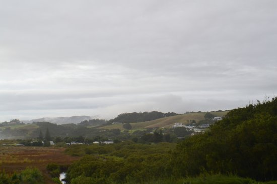 Waipu, نيوزيلندا: panorama, slightly grey