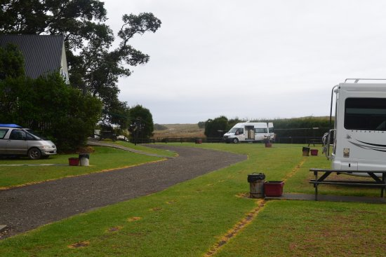 Waipu, Nueva Zelanda: campers and tents welcome
