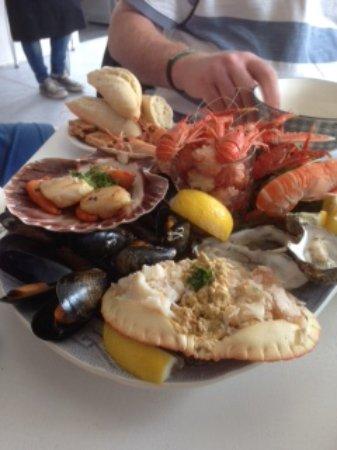 Achiltibuie, UK : Seafood platter