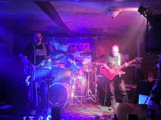 Irthlingborough, UK: Fat Weesel LIVE at the British Arms