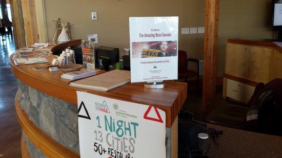 Wanuskewin Heritage Park : la réception