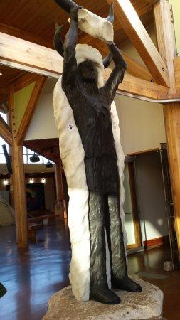 Wanuskewin Heritage Park : sur le site