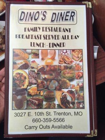 Trenton, MO: Dino's Diner