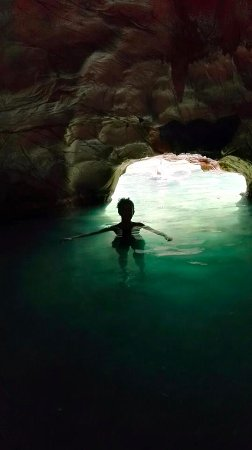 Whitianga, Nya Zeeland: Little cave extension from the main pool!
