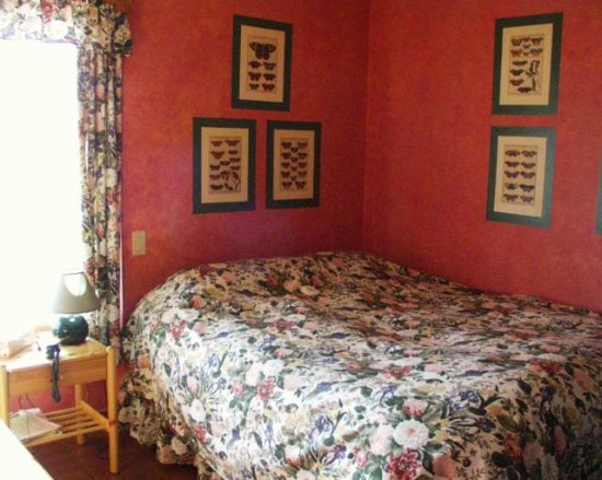 108 Mile Ranch, Kanada: Butterfly Room at Arcona House