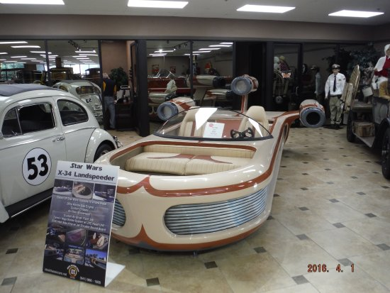 Star Wars Speeder Picture Of Ideal Classic Cars Museum Showroom - Car show venice florida