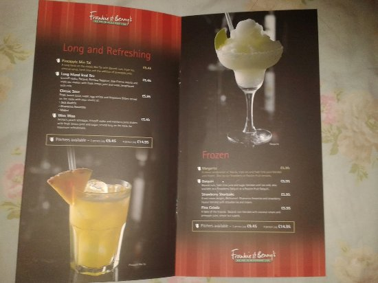 Ilford, UK: Cocktails . . .simply divine!!