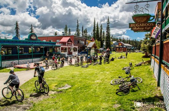 Silver Star, Canada: The main village in the summer.