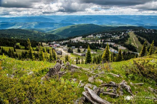 Silver Star, Canadá: Views from the alpine hiking trails.