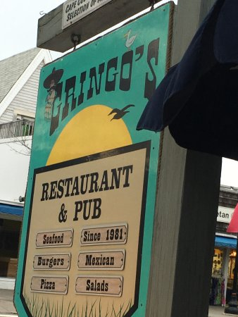 Gringo's Mexican Restaurant: Outdoor Seating on Main Street