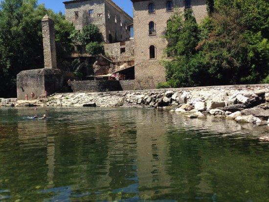 Cap Canoe : étape 'le Moulin', baignade