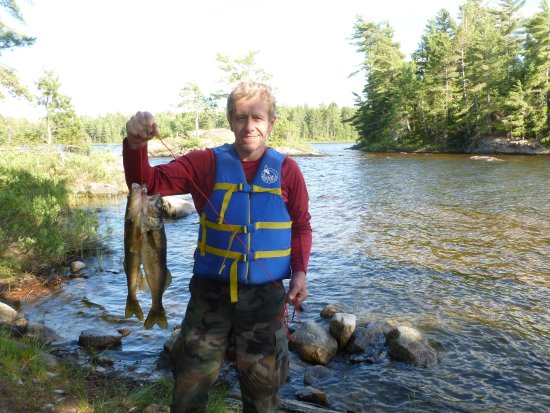 Atikokan, Canadá: Fishing was good