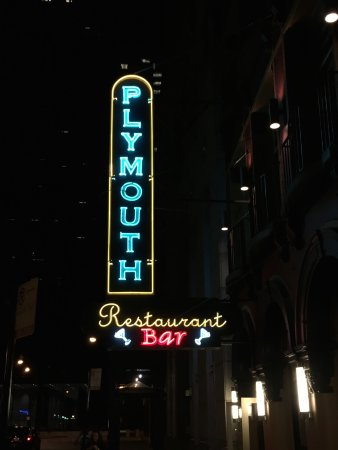 Plymouth Restaurant & Bar: Photo of the front of the place.