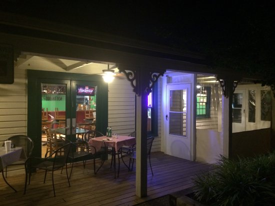 Friendship, MD: Evening on the patio