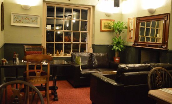 Comfortable Seating Area in The Old Ham Tree Holt
