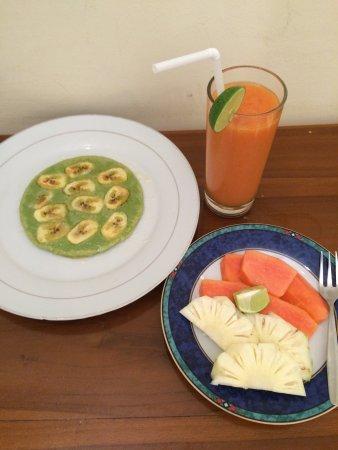 Adi Jaya Cottages: 美味しい朝食(勿論無料)とイケメンスタッフ