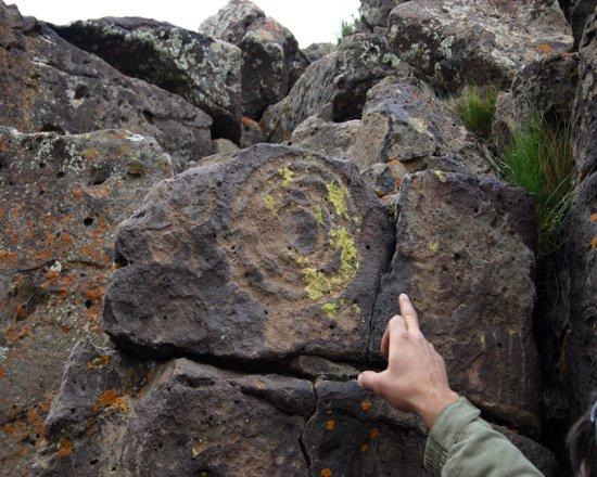 Province of Rio Negro, Argentina: Otro de los lugares desconocidos, con tallados en roca