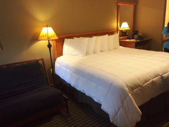 Silver Moon Inn: Bed - room 118