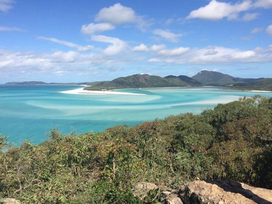 Whitehaven Xpress: View from HIll Inlet